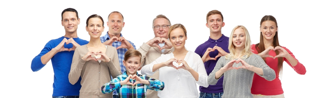 group with heart hands shutterstock_335712827